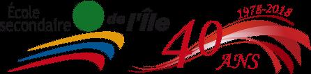 École secondaire de l'Île Logo